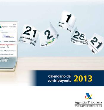 Calendario contribuyente 2013-autonomos