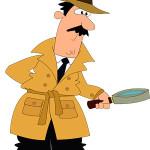 Inspector de trabajo antes de realizar una inspección