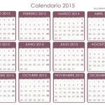 Calendario del contribuyente 2015 autónomos Agencia Tributaria