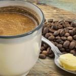 Emprendedor cafe con mantequilla