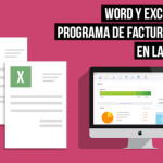 word-excel vs facturacion en la nube