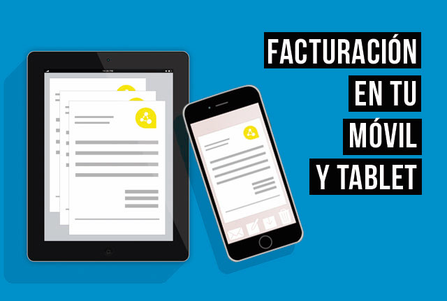 facturacion en tablet o movil autonomos