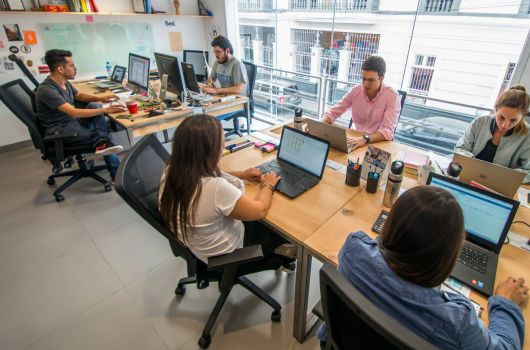 espacios donde los emprendedores pueden instalarse
