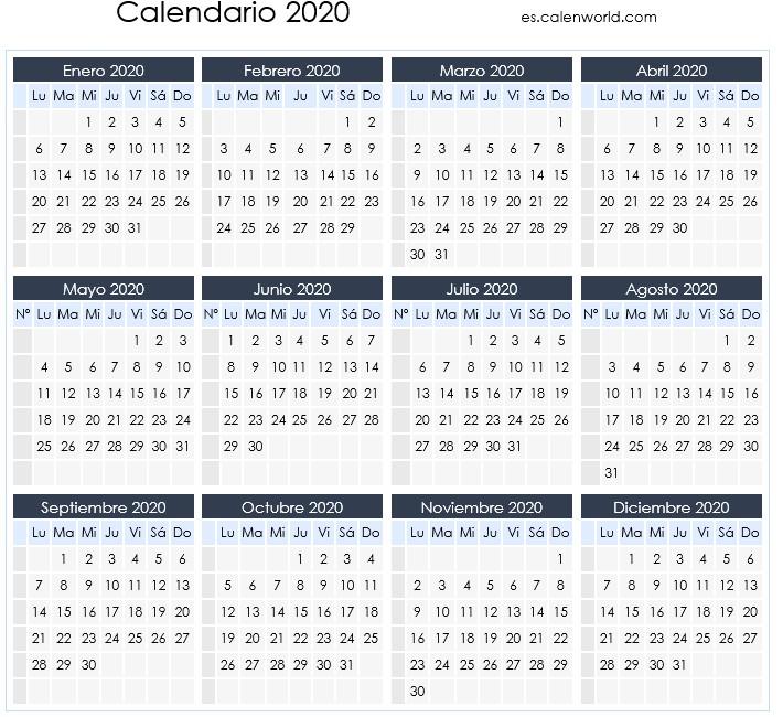 Calendario Laboral 2020 Dias Festivos Por Comunidades Ser Autonomo