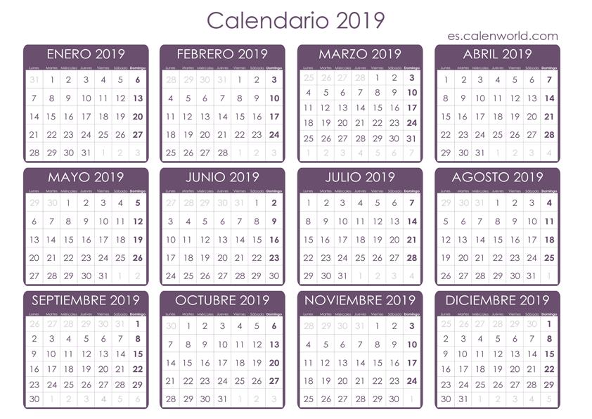 Calendario Laboral 2019 Andalucia.Calendario Laboral 2019 Dias Festivos Por Comunidades Ser Autonomo